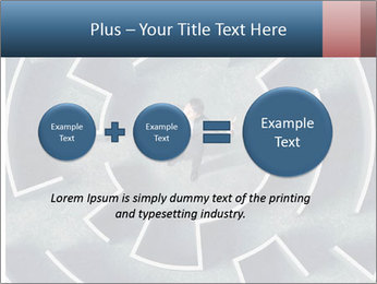 Maze Confusion PowerPoint Template - Slide 75