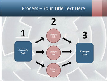 Maze Confusion PowerPoint Template - Slide 92