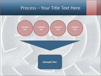 Maze Confusion PowerPoint Template - Slide 93