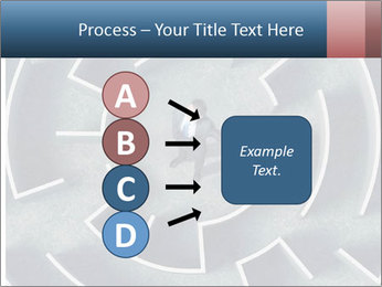 Maze Confusion PowerPoint Template - Slide 94