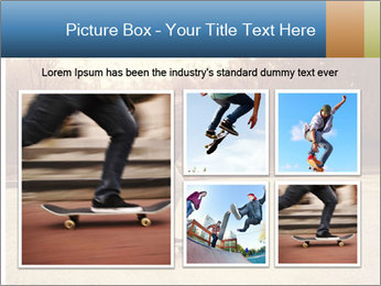 Hipster On Skateboard PowerPoint Template - Slide 19
