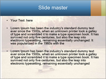 Hipster On Skateboard PowerPoint Templates - Slide 2