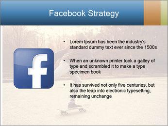 Hipster On Skateboard PowerPoint Templates - Slide 6