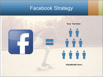 Hipster On Skateboard PowerPoint Template - Slide 7