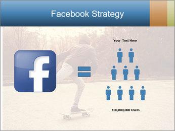 Hipster On Skateboard PowerPoint Templates - Slide 7
