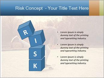 Hipster On Skateboard PowerPoint Templates - Slide 81