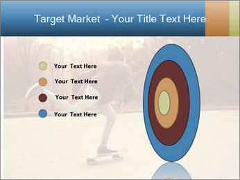 Hipster On Skateboard PowerPoint Templates - Slide 84