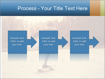 Hipster On Skateboard PowerPoint Template - Slide 88
