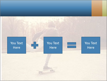Hipster On Skateboard PowerPoint Templates - Slide 95