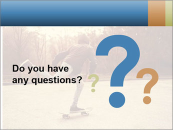 Hipster On Skateboard PowerPoint Template - Slide 96