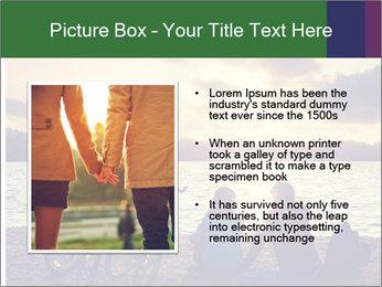 Friends At Seaside PowerPoint Template - Slide 13