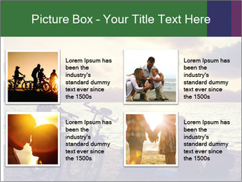 Friends At Seaside PowerPoint Templates - Slide 14
