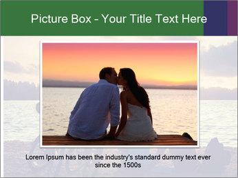 Friends At Seaside PowerPoint Template - Slide 15