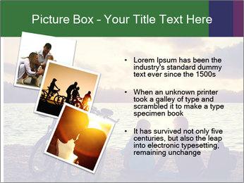 Friends At Seaside PowerPoint Template - Slide 17