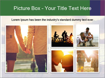 Friends At Seaside PowerPoint Templates - Slide 19