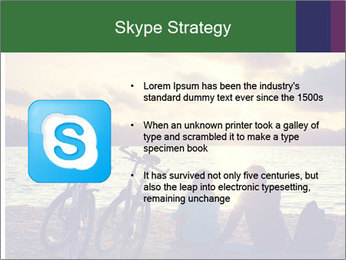 Friends At Seaside PowerPoint Template - Slide 8
