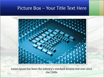 Man Working With Microchip PowerPoint Template - Slide 15