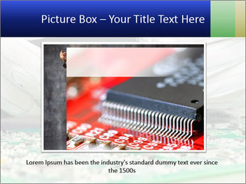 Man Working With Microchip PowerPoint Template - Slide 16