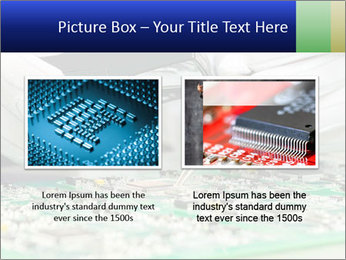 Man Working With Microchip PowerPoint Template - Slide 18