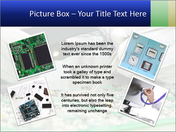 Man Working With Microchip PowerPoint Template - Slide 24