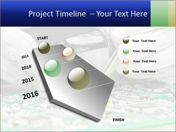 Man Working With Microchip PowerPoint Template - Slide 26
