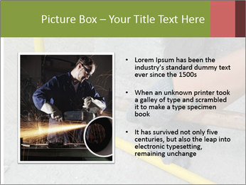 Man Fixing Tubes PowerPoint Templates - Slide 13