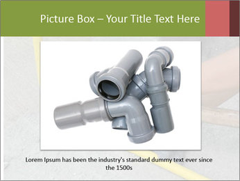 Man Fixing Tubes PowerPoint Templates - Slide 15