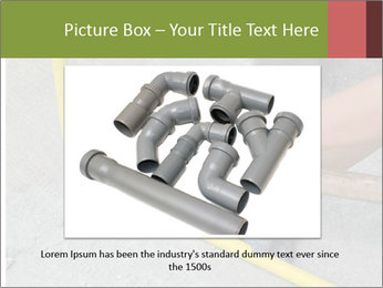 Man Fixing Tubes PowerPoint Templates - Slide 16