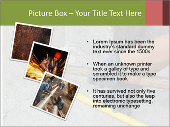 Man Fixing Tubes PowerPoint Templates - Slide 17