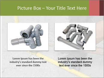 Man Fixing Tubes PowerPoint Templates - Slide 18