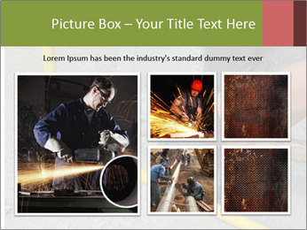 Man Fixing Tubes PowerPoint Templates - Slide 19