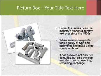 Man Fixing Tubes PowerPoint Templates - Slide 20