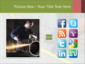 Man Fixing Tubes PowerPoint Templates - Slide 21