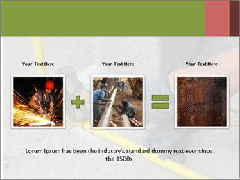 Man Fixing Tubes PowerPoint Templates - Slide 22