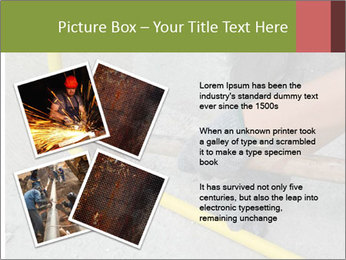Man Fixing Tubes PowerPoint Templates - Slide 23