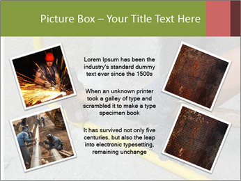 Man Fixing Tubes PowerPoint Templates - Slide 24