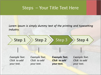 Man Fixing Tubes PowerPoint Templates - Slide 4