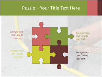 Man Fixing Tubes PowerPoint Templates - Slide 43