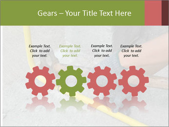 Man Fixing Tubes PowerPoint Templates - Slide 48