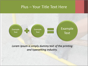 Man Fixing Tubes PowerPoint Templates - Slide 75