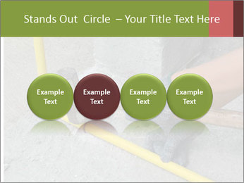 Man Fixing Tubes PowerPoint Templates - Slide 76