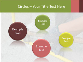 Man Fixing Tubes PowerPoint Templates - Slide 77