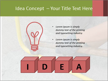 Man Fixing Tubes PowerPoint Templates - Slide 80