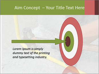 Man Fixing Tubes PowerPoint Templates - Slide 83