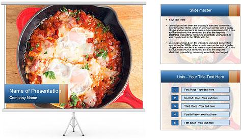 Arabic Dish PowerPoint Template