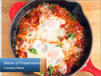 Arabic Dish PowerPoint Templates - Slide 1
