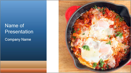 Arabic Dish PowerPoint Template