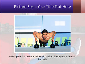 Cross Fit Female Master PowerPoint Template - Slide 15