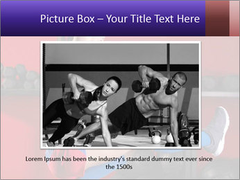Cross Fit Female Master PowerPoint Template - Slide 16
