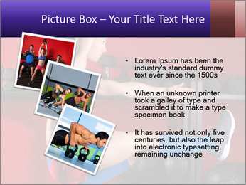 Cross Fit Female Master PowerPoint Template - Slide 17